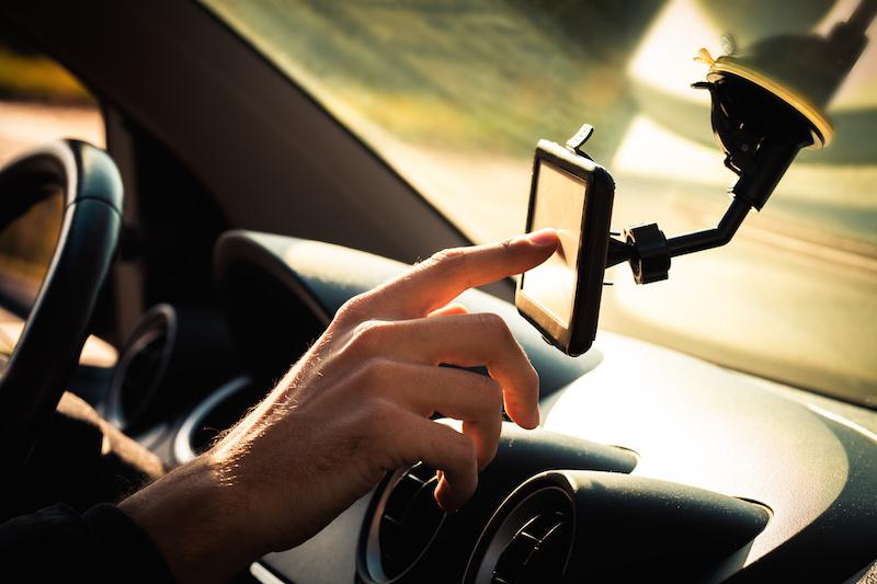 uber driving